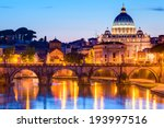 night view sant'angelo and san... | Shutterstock . vector #193997516