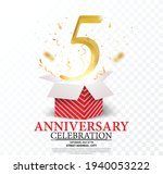 10th anniversary celebration....   Shutterstock .eps vector #1940053222
