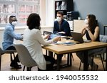 group of corporate business... | Shutterstock . vector #1940055532