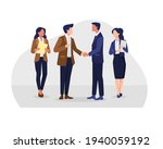 business partnership... | Shutterstock .eps vector #1940059192
