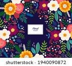 beautiful romantic flower... | Shutterstock .eps vector #1940090872