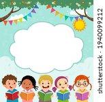template for advertising... | Shutterstock .eps vector #1940099212
