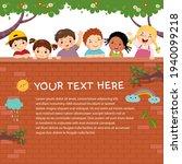 template for advertising... | Shutterstock .eps vector #1940099218