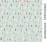 semless hand drawn pattern with ... | Shutterstock .eps vector #1940132662