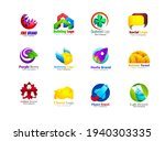 unusual icons set isolated on... | Shutterstock .eps vector #1940303335