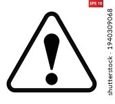 general caution icon vector... | Shutterstock .eps vector #1940309068