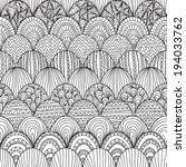 elegant seamless pattern with... | Shutterstock .eps vector #194033762