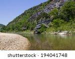 Scenic Buffalo River Wilderness in Arkansas