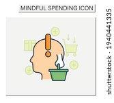 conscious consumer color icon.... | Shutterstock .eps vector #1940441335