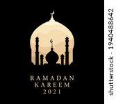 ramadan kareem 2021 islamic...   Shutterstock .eps vector #1940488642