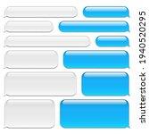 Blank Vector Message Bubbles....