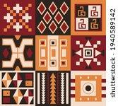 ethnic tribal vector background ... | Shutterstock .eps vector #1940589142