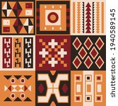 ethnic tribal vector background ... | Shutterstock .eps vector #1940589145