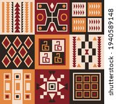 ethnic tribal vector background ... | Shutterstock .eps vector #1940589148
