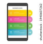 smartphone infographic template ...   Shutterstock .eps vector #1940607262
