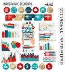 business infographics template. ...   Shutterstock .eps vector #194061155
