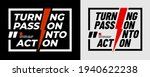 turning passion into action ... | Shutterstock .eps vector #1940622238