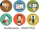 infographics background... | Shutterstock .eps vector #194077922