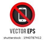 the isolated vector red circle... | Shutterstock .eps vector #1940787412
