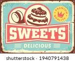 vintage sign post template for... | Shutterstock .eps vector #1940791438