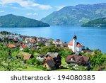 Lucerne Lake By Ruetli ...