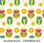 pohela boishakh kids seamless... | Shutterstock .eps vector #1940806192