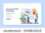 certification of translation...   Shutterstock .eps vector #1940813515