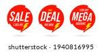 half price hot deal for... | Shutterstock .eps vector #1940816995