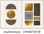 abstract minimalist wall art... | Shutterstock .eps vector #1940873578