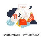 discounts  sale  promotion.... | Shutterstock .eps vector #1940894365