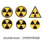 set of radiation symbol....   Shutterstock .eps vector #1940939668