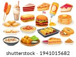 american food vector icon. corn ... | Shutterstock .eps vector #1941015682