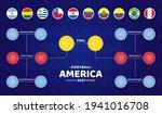 south america football 2021...   Shutterstock .eps vector #1941016708