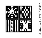 farmhouse decor pattern design... | Shutterstock .eps vector #1941056302