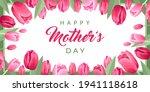 happy mothers day banner.... | Shutterstock .eps vector #1941118618