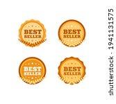 best seller shopping ribbon...   Shutterstock .eps vector #1941131575