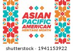 asian pacific american heritage ... | Shutterstock .eps vector #1941153922
