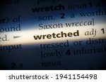 Wretched Word In A Dictionary....