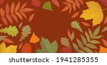 autumn frame from yellow  green ... | Shutterstock .eps vector #1941285355