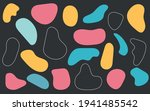liquid shape elements. set of... | Shutterstock .eps vector #1941485542