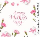 happy mothers day. calligraphic ... | Shutterstock .eps vector #1941485635