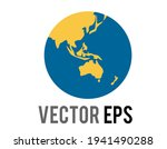 the isolated vector globe icon  ...   Shutterstock .eps vector #1941490288