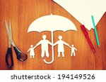 concept of life insurance | Shutterstock . vector #194149526