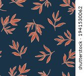 line art seamless pattern with... | Shutterstock .eps vector #1941530062