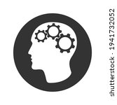 person head with gears graphic... | Shutterstock .eps vector #1941732052