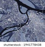 map of the city of belgrade ... | Shutterstock .eps vector #1941778438