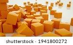 abstract 3d cubes background.... | Shutterstock . vector #1941800272