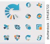 vector design elements  | Shutterstock .eps vector #194181722