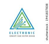 electronic technology   vector...   Shutterstock .eps vector #1941837838