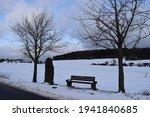 Idyllic Snow Covered Landscape...